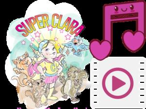 Free MP3 of SuperClara read by Pam Martin