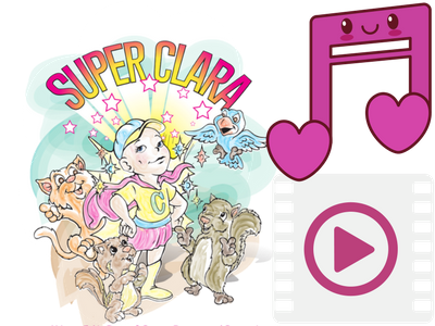 Free MP3 of SuperClara read by Pam Martin