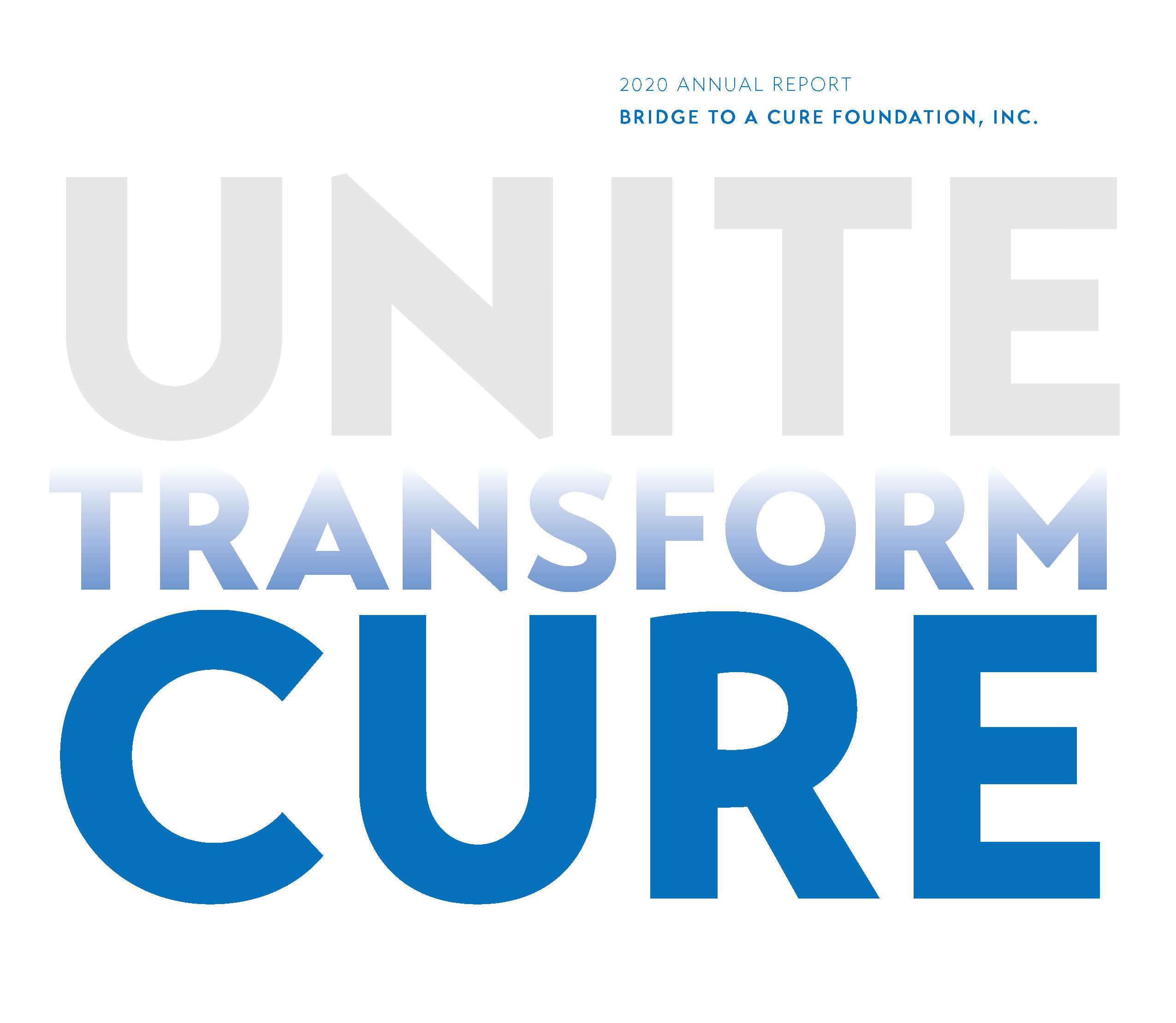 Unite, Transform, and Yes, Cure Childhood Cancer